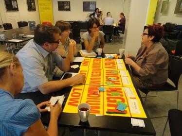 Leonardo partners focusing on Action Planning and Prioritisation