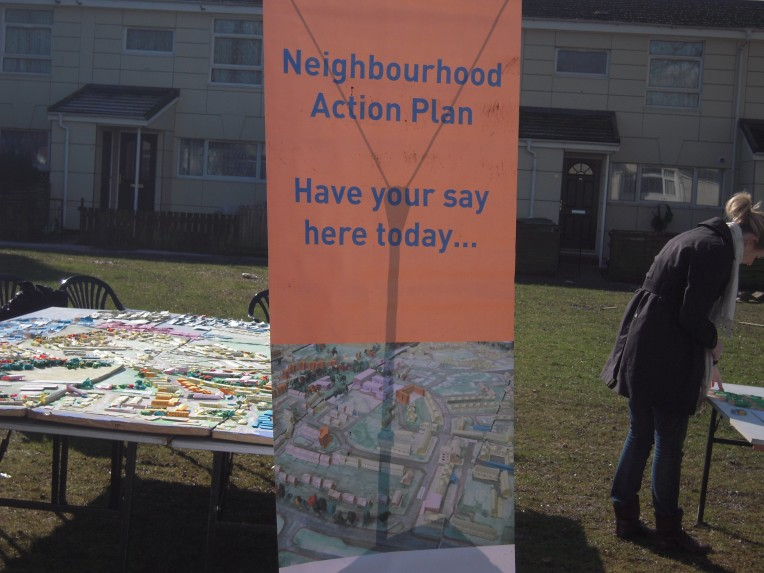 Community event at Highcroft Green