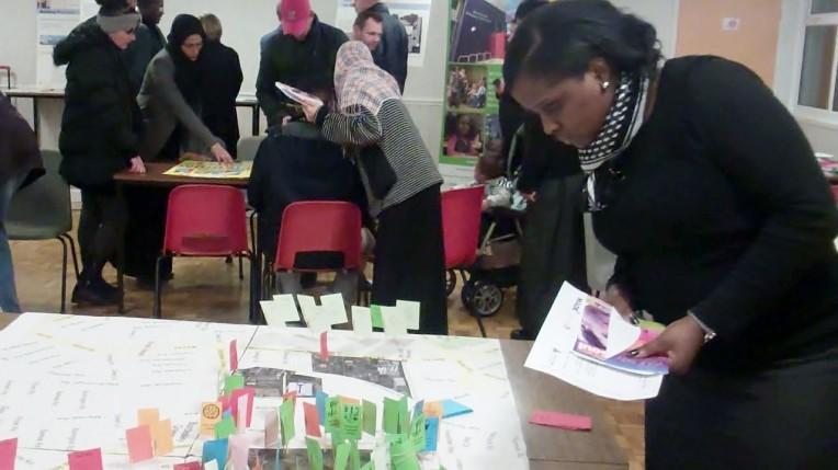 Community event at Bordesley Green